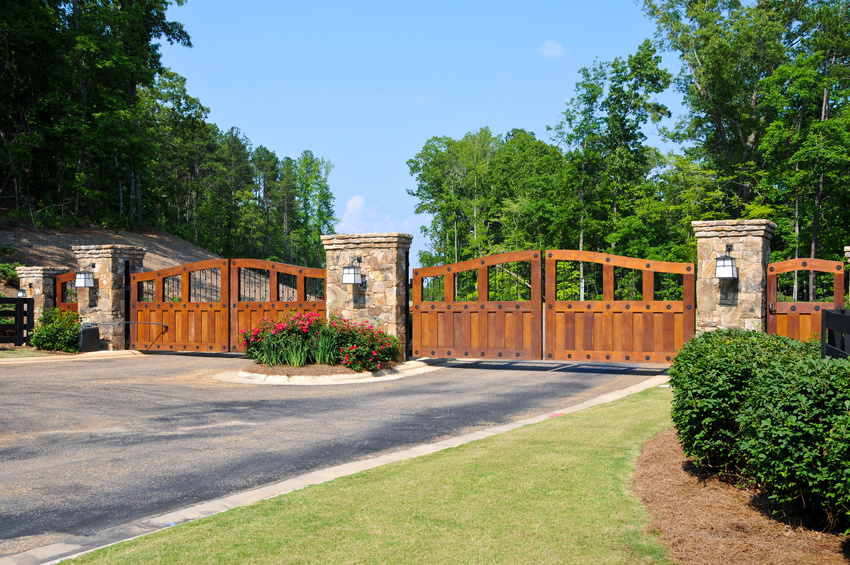 Custom Ranch Gates
